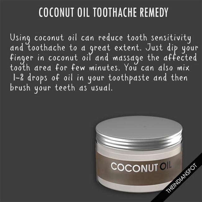 10 meilleurs remèdes maison à l'aide de l'huile de coco