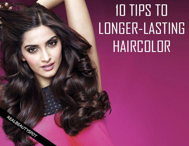 Fotografía - 10 meilleurs conseils pour faire votre couleur de cheveux durent longtemps