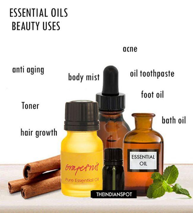Fotografía - 10 meilleures façons d'utiliser les huiles essentielles dans votre régime de beauté