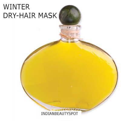 Fotografía - Hiver traitement des cheveux à l'huile chaude pour les cheveux secs