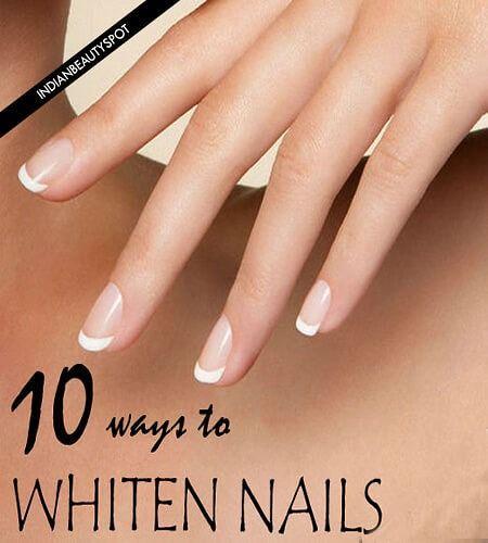 Fotografía - 10 façons super facile à blanchir les ongles en 60 secondes