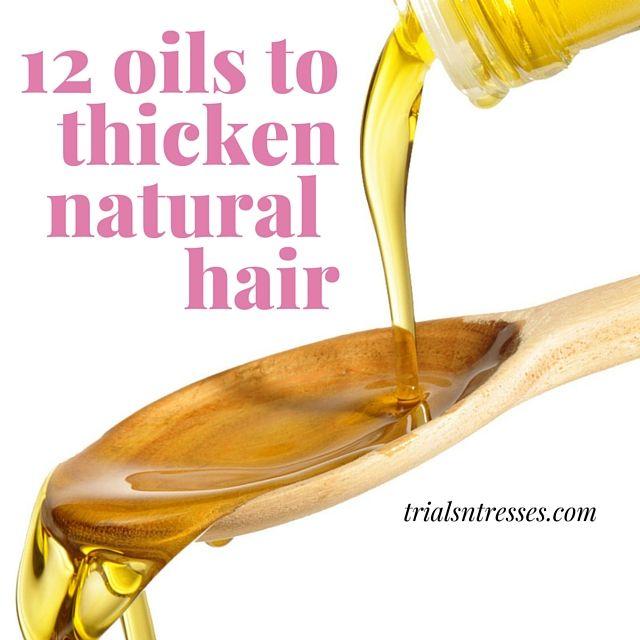 Fotografía - 12 Huiles pour épaissir vos cheveux naturels
