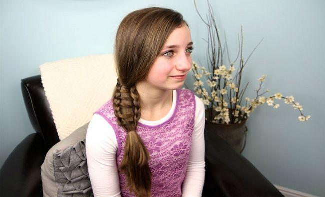 Fotografía - 14 belles tresses pour les cheveux longs