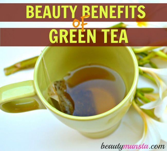 Fotografía - 15 Prestations de beauté du thé vert
