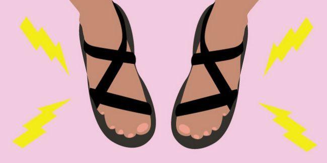 Fotografía - 15 Sandales qui ne fera pas votre mal aux pieds
