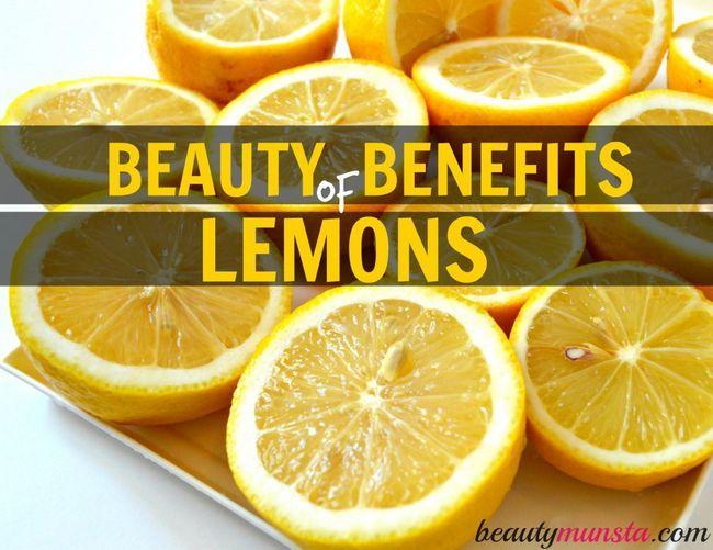 Fotografía - 20 Prestations de beauté de citron