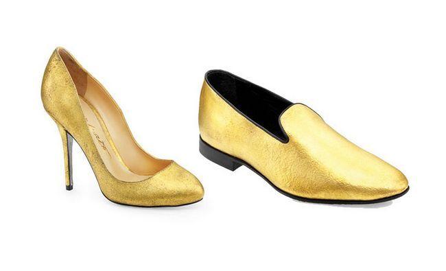 Les Beckham-or-chaussures-Makeover-Idées