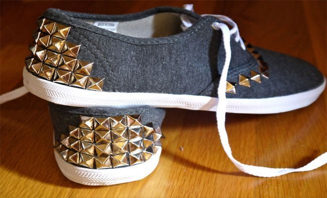 Makeover-Ideas or clouté-Sneakers-