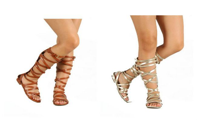 Makeover Idées gladiateur Sneakers-