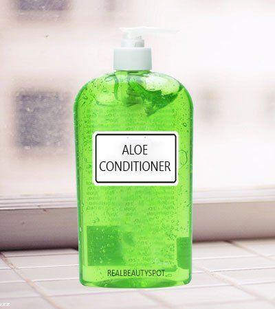 Aloe Vera naturel laissent dans Conditioner - Les cheveux gras