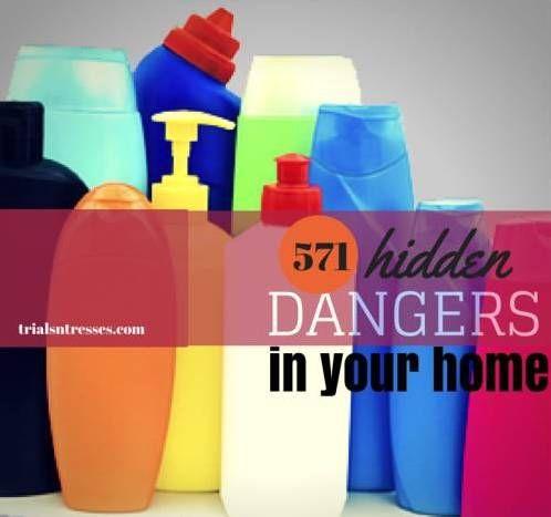 Fotografía - 571 dangers cachés se cachent dans votre maison