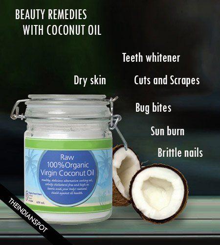 6 remèdes de beauté incroyable avec l'huile de coco