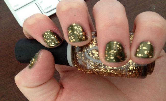 Fotografía - 7 Patterns étonnant pour Glitter Astuce Nails