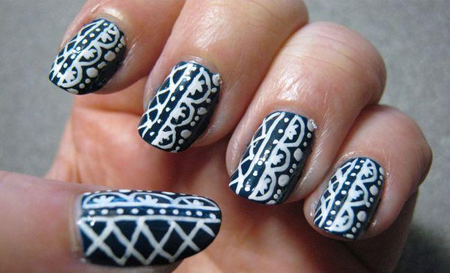 Fotografía - 7 Fabuleux Nail bande Designs