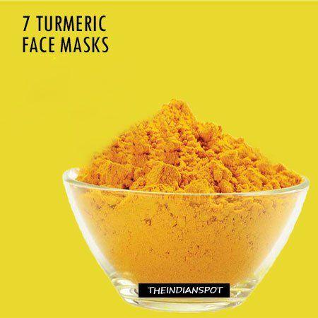 Fotografía - 7 masques curcuma pour une belle peau