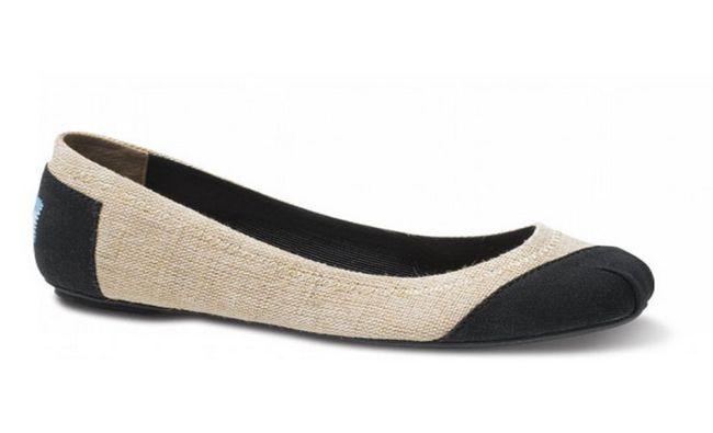 Chaussures de ballet plates-