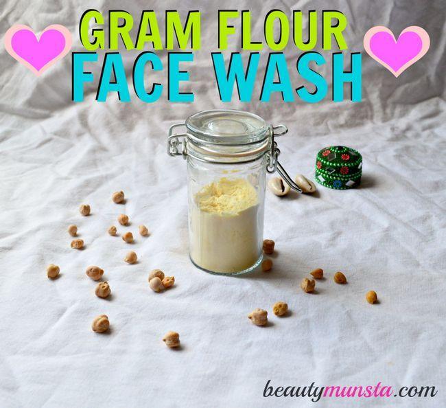 Gramme de farine de base lavage de visage pour tous types de peau -Incluant peau super sensible.