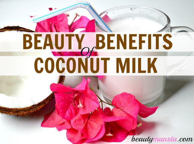 Fotografía - Avantages de beauté de lait de coco