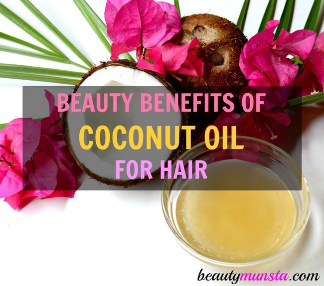 Fotografía - Avantages de beauté de l'huile de coco pour cheveux et cuir chevelu