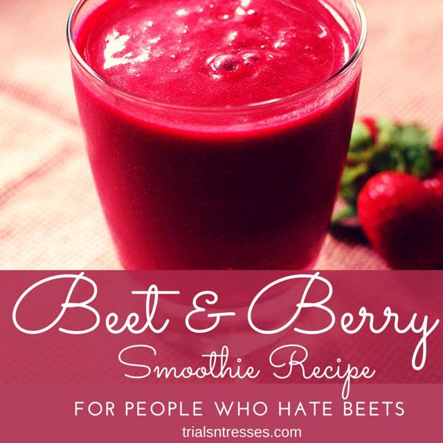 Fotografía - Beet & Berry Smoothie recette (pour les personnes qui détestent les betteraves)