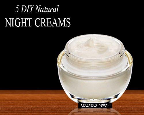 Fotografía - Meilleures crèmes de nuit maison pour obtenir une belle peau