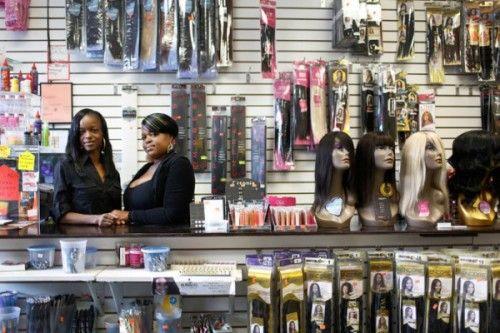 Fotografía - Black Women Regain de part de marché dans la beauté souple Industrie