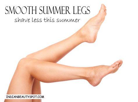 Fotografía - Rasez moins cet été - jambes lisses d'été