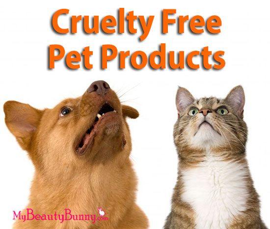 sans cruauté produits pour animaux de compagnie