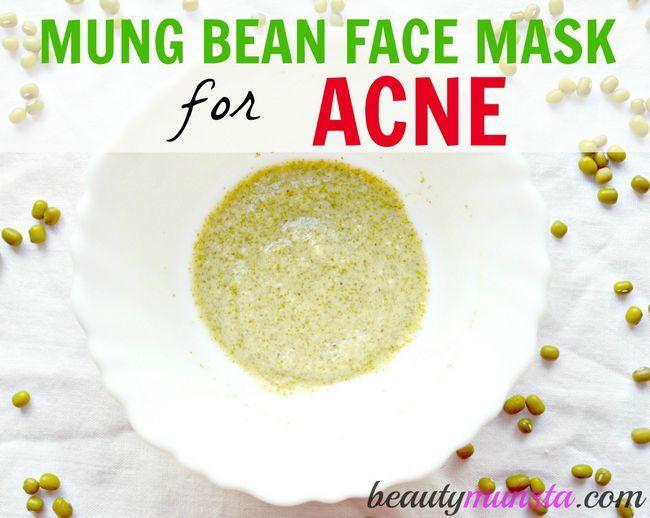 Fotografía - DIY Mung Bean Masque pour les peaux à tendance acnéique