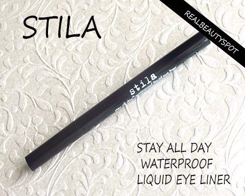 Fotografía - Stila rester toute la journée eye-liner liquide imperméable à l'eau