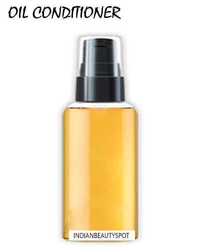 Doux, les cheveux soyeux avec conditionneur d'huile