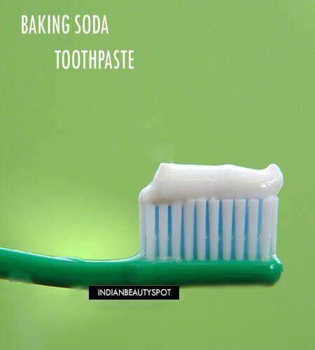 Fotografía - Bricolage dents blanchisseur de bicarbonate de soude