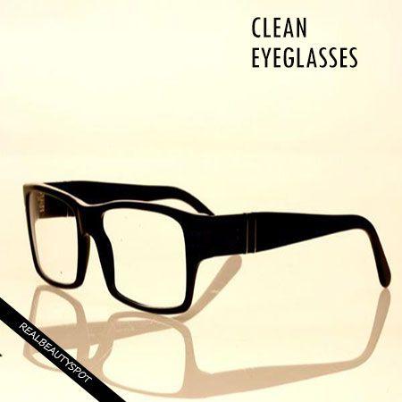 Moyens faciles pour nettoyer les lunettes