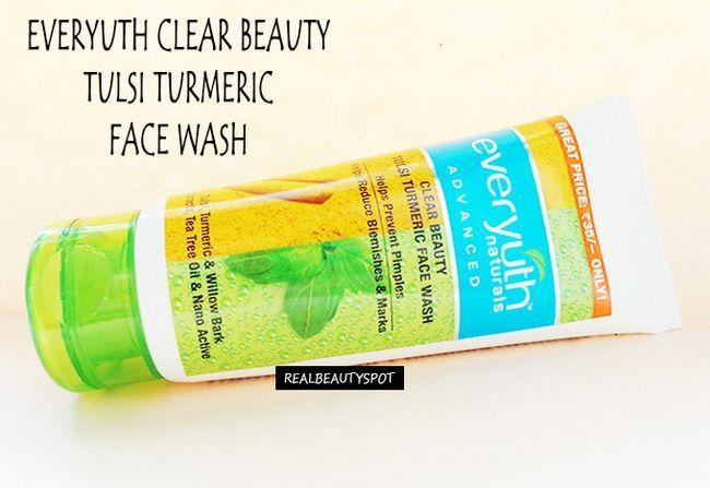 Fotografía - Everyuth beauté Tulsi clair visage de lavage de curcuma