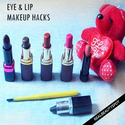 Yeux et Lèvres MAQUILLAGE HACKS pour chaque femme