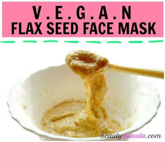 Fotografía - Masque de lin pour une belle peau   Vegan Secrets Face Mask