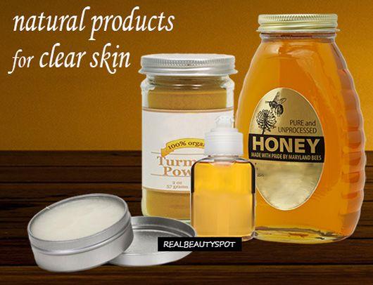 Fotografía - Obtenez une peau sans tache claire avec des produits naturels