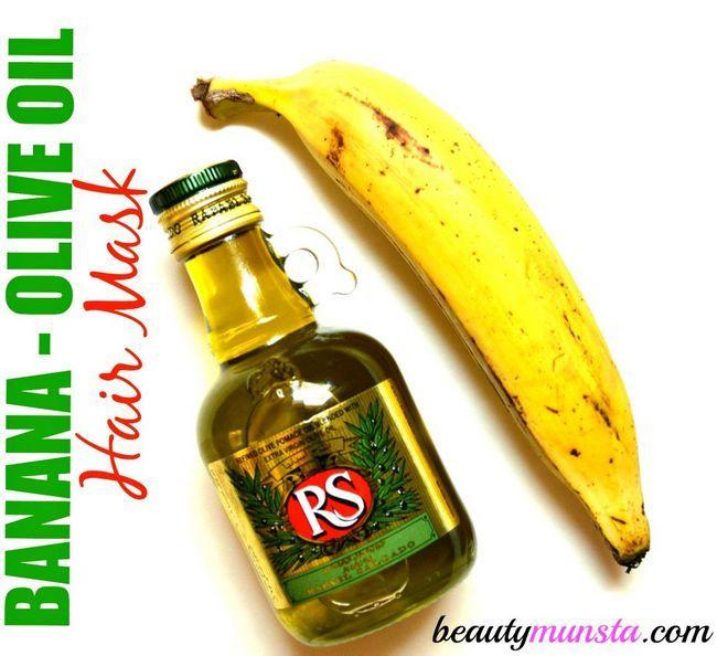 Fotografía - Obtenir Luscious Serrures: Masque Banana Olive Oil Hair pour les cheveux abîmés