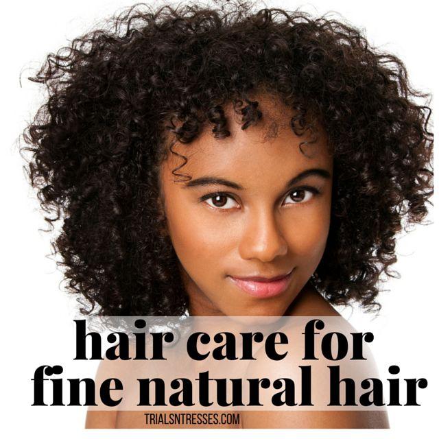 Fotografía - Soins des cheveux pour cheveux fins naturel