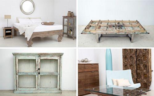 Fotografía - Recherche Happy - récupérés et recyclés meubles en bois