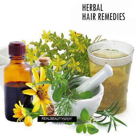 Remèdes de cheveux à base de plantes pour Super douce, lisse et soyeux cheveux
