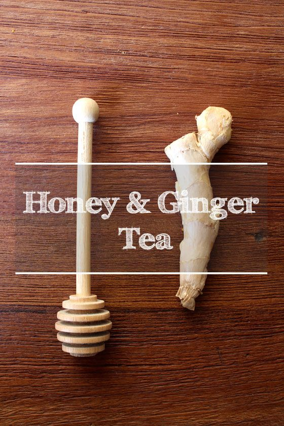 Fotografía - Honey & Ginger Tea Recette
