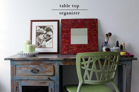 Fotografía - Comment puis-je organiser mon dessus de table