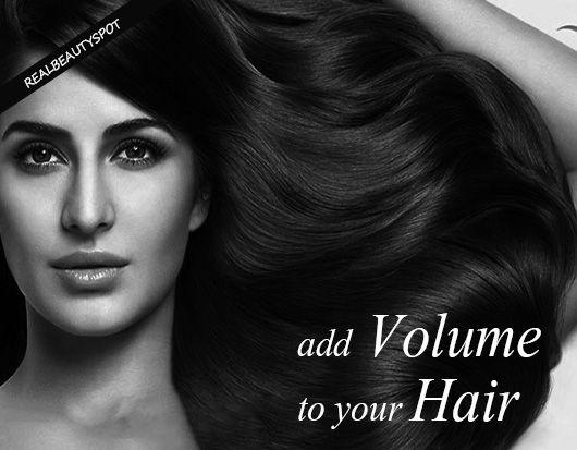 Fotografía - Comment ajouter du volume aux cheveux