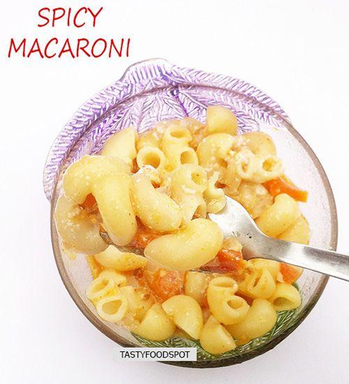 Fotografía - Spicy recette de macaroni
