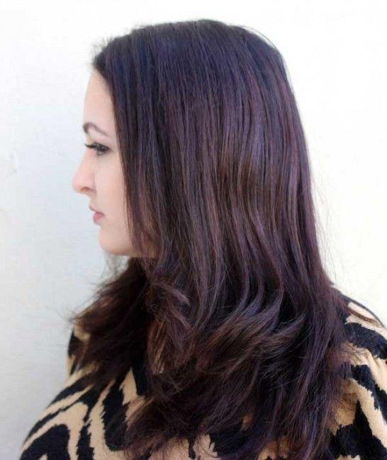 Avant Cheveux raides