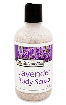 Meilleur magasin de bain Lavande Scrub
