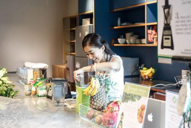 Fotografía - Comment faire le parfait smoothie vert avec LINS Smoodees
