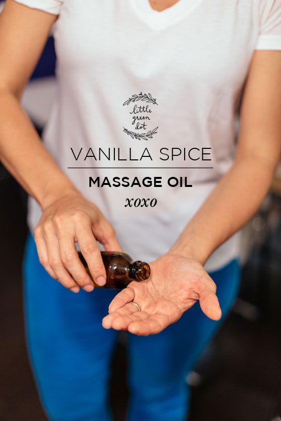 Vanille-Spice-Massage-Oil