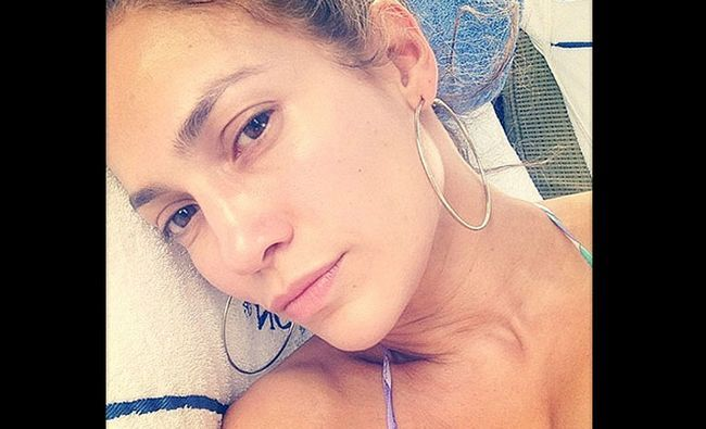 Fotografía - Jennifer Lopez sans maquillage